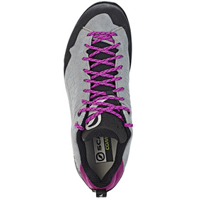 Scarpa W's Epic GTX Shoes metal gray-fuxia